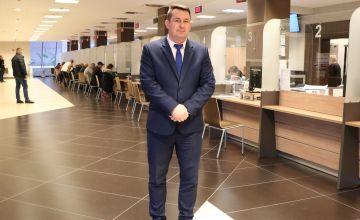Cezary Majcher członek Zarządu Powiatu w Kielcach