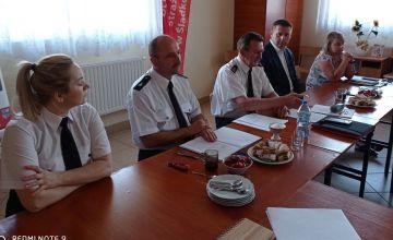 Druhowie z gminy Chmielnik rozmawiali o projekcie ustawy o OSP