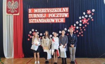 X Wojewódzki Międzyszkolny Turniej Pocztów Sztandarowych
